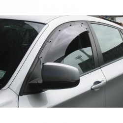 Weather Shield - BMW X6 - All Models - Left Hand