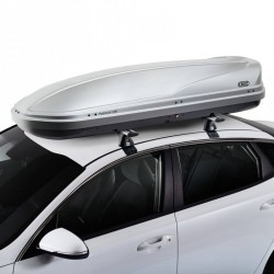 CRUZ Roof Box 500L - Paddock - GREY colour - DUAL SIDE OPENING