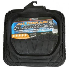 H/DUTY MAT RUBBER 4WD BLACK SMALL