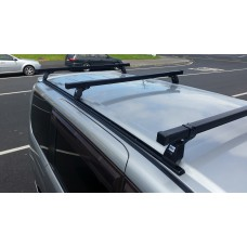 ROOF RACK NISSAN 2004 SERENA VAN - 3 X SQUARE BAR COMMERCIAL