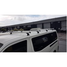 ROOF RACKS - NISSAN NV350 - SET OF 4 COMMERCIAL PREIMUM ALUMINIUM BARS - CRUZ