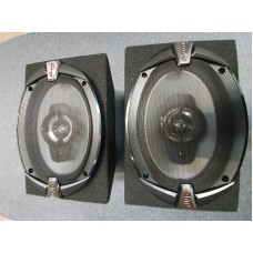 JVC 6X9 COAXIAL SPEAKERS WITH BOXES
