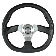 STEERING WHEEL 320MM BLACK - BATHURST