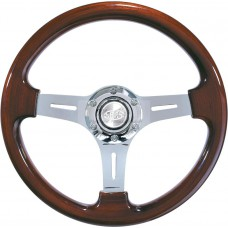 SAAS WOODGRAIN STEERING WHEEL - CLASSIC CARS