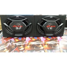 JVC 6X9 500WATT 3 WAY SPEAKERS WITH BOXES
