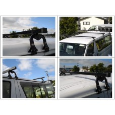933-060 & 923-032 ROOF RACKS - VAN TRADE RACKS - CRUZ 3 X BARS