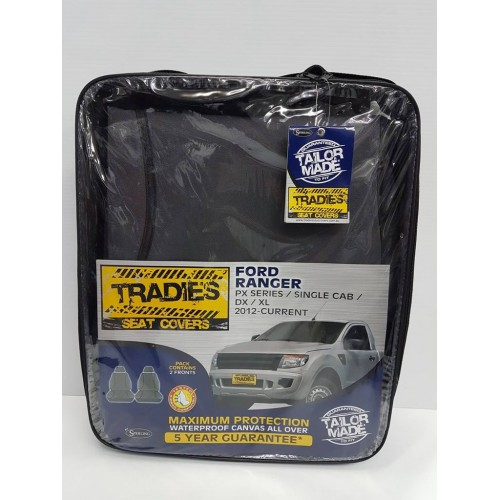 SEAT COVERS FORD RANGER SINGLE CAB 2012 ON
