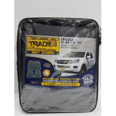 D MAX TF DUAL CAB SX NO ARMREST 2012 ON SEAT COVERS