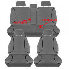 SEAT COVERS COLORADO DUAL CAB 2015 ON-