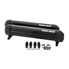 RHINO RACK - Ski and Snowboard Carrier - 4 Skis or 2 Snowboards