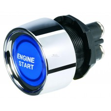 ENGINE START BUTTON - NARVA BLUE LED - BRAND NEW!