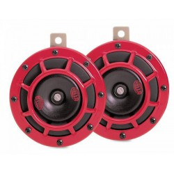 HELLA SUPER TONE 12V RED