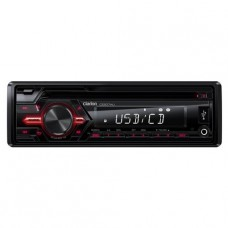 Clarion - Head Unit - Single Din - CD / USB / AUX-IN / SD / MP3 / WMA