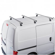ROOF RACKS NISSAN NV200 - 3 X CRUZ PREMIUM ALUMINIUM BARS 933-420 & 924-095
