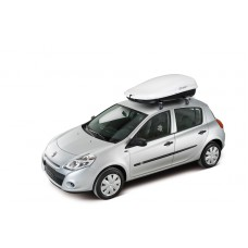 ROOF BOX 450L WHITE - CRUZ