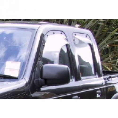 Weather Shield - Ford Courier PE - 1992 to 2002 - Dark Tint - Front Left  Hand