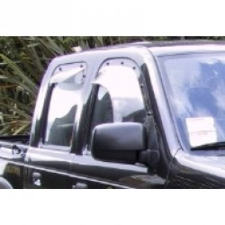 Weather Shield - Ford Courier PE - 1992 to 2002 - Dark Tint - Front Right Hand