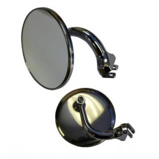 "ROUND CLASSICAL MIRRORS 3"" - PAIR"