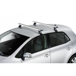 ROOF RACKS - Toyota Hilux Double Cab 97 to 05 (Gutterless) - CRUZ AIRO SILVER