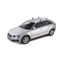 ROOF RACKS - Ford Mondeo Wagon 07 to 14 (Integrated Rail) - CRUZ AIRO SILVER