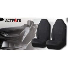 SEAT COVERS - BLACK ( HIGH BACK )