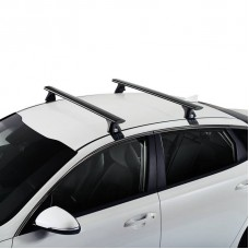 35-379+925-771 ROOF RACKS - PEUGEOT 206 5door 98 on - CRUZ AIRO DARK