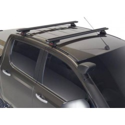 Yakima Lockn'Load Crossbar Roof Racks - 2 bars for Ford Ranger dbl cab 2011->