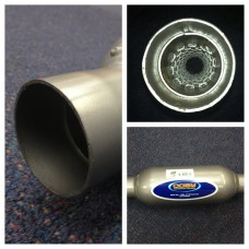 COBY BAFFLED MUFFLER STRAIGHT THRU - 2.0 INCH