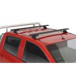 Lockn'Load Crossbar Roof Racks - Set of 2 bars for Holden Colorado dbl cab ute