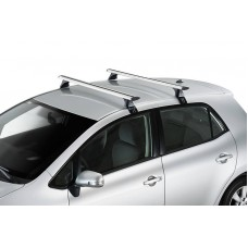 ROOF RACK -  BMW X2 2018 - on - CRUZ Airo Silver Roof Racks
