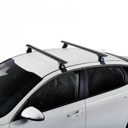 ROOF RACK - Audi A6 sedan 2018 - CRUZ Airo Dark Roof Racks