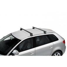 ROOF RACKS - Toyota Fortuner 2015 on (Integrated Railing) - CRUZ AIRO DARK