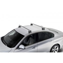 ROOF RACK - BMW 5 SERIES SEDAN (F10) WITH FIXPOINTS 2010 - 2017 - AIRO SILVER