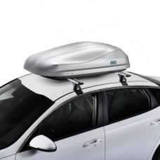 940-470 CRUZ Roof Box ROAD 370L Grey textured