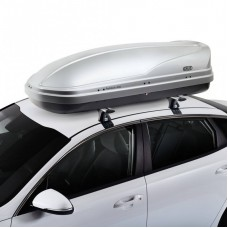 CRUZ Roof Box 450L - Paddock - GREY colour - DUAL SIDE OPENING
