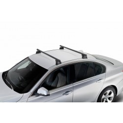 ROOF RACK - BMW Series 3 sedan (G20) 2019 - CRUZ SQUARE BAR ROOF RACKS