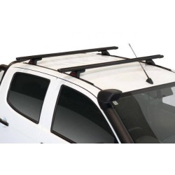 Lockn'Load Crossbar Roof Racks - Set of 2 bars for Isuzu D-MAX dbl cab- no rails