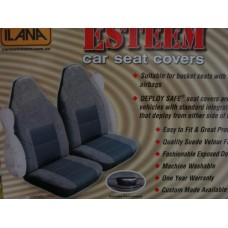ESTEEM HI BACK SEAT COVERS (PAIR) -TO SUIT ARMREST