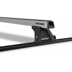 Rhino Rack - Heavy Duty Silver Bars Trackmount - MAZDA BT50 D/Cab 12/06 to 10/11