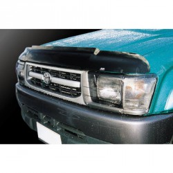 Headlight Covers - Toyota Hilux Double Cab Ute - 1998 to 2001 - DARK TINT