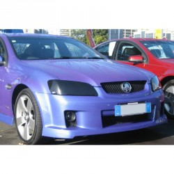 HOLDEN COMMODORE VE HEADLIGHT COVERS - BLACK!!
