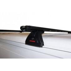 Yakima Lockn'Load Roof Rack - Set of 2 bars, 110mm feet - Toyota Hiace van 04-19