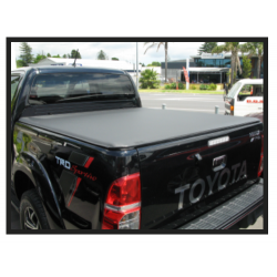 Toyota Hilux Double Cab - Roll Up Tonneau Cover (A Deck) 2005 to 2015