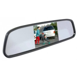 "Mongoose 4.3"" Clip On Rear View Mirror"