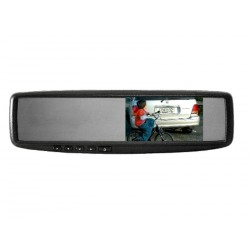"Mongoose 4.3"" Clip On Mirror"