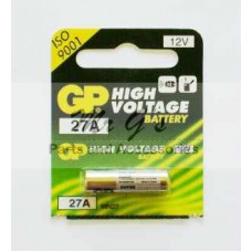 27A BATTERY FOR CAR ALARMS ELECTRONIC DEVICES - 12V