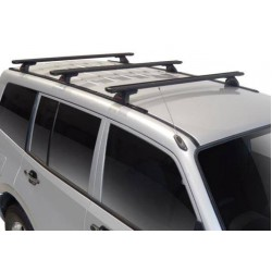Yakima Lockn'Load Roof Racks - set of 3 bars Pajero NM-NP 4 Door 4WD LWB 00-06