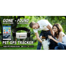 DOG / PET TRACKER WITH COLLAR - MONGOOSE