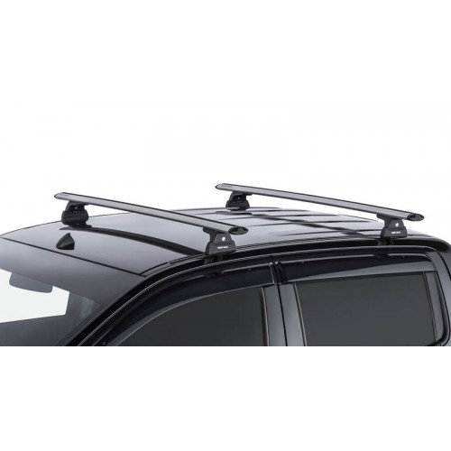 Rhino Vortex Silver 2 Bar Roof Rack for FORD Ranger PX/PX2