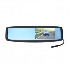 "Universal Rear View Mirror Touch Screen Monitor - 4.3"" TFT LCD"